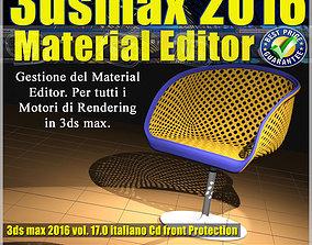 017 3ds max 2016 Material Editor Vol 17 Italiano cd