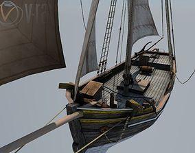 Swedish yacht 3D asset