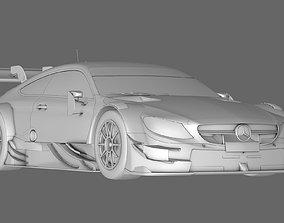 3D car Mercedes AMG C63 DTM