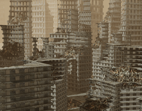 3D model Apocalyptic City