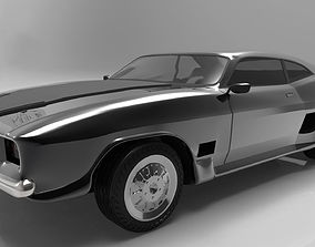 3D 1967 Ford Mustang Fastback