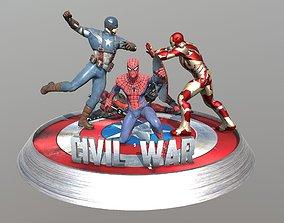 Civil War 3D print model