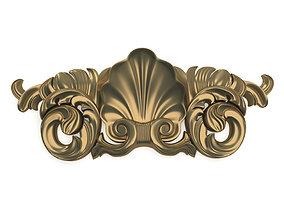3D model Decorative element carved