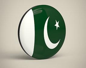 Pakistan Badge 3D model