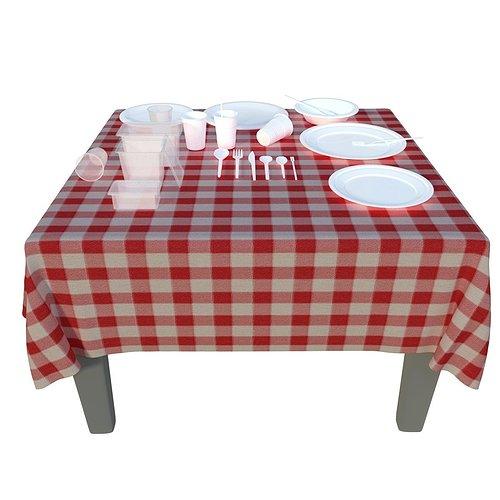 plastic-disposable-tableware-set-3d-mode