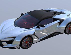 W Motors Fenyr Supersport 3D Model game-ready