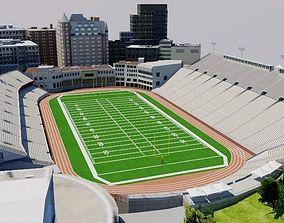 Percival Molson Memorial Stadium 3D model