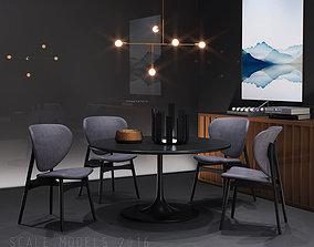 3D Italian Dining Room 091