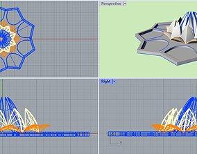 Bahai Tempe or Lotus Temple 3D asset realtime