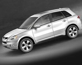 3D Acura RDX 2008