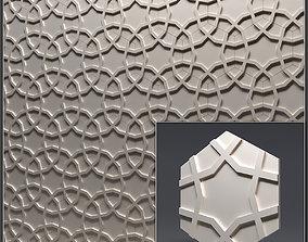 ornament Gypsum 3D panel 2