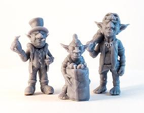 Team Goblin - 3D Printable Characters - 3