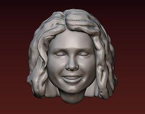 Female head 1 3D print model