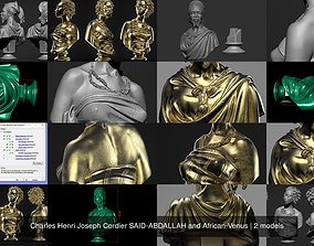 3D model Charles Henri Joseph Cordier SAID-ABDALLAH and