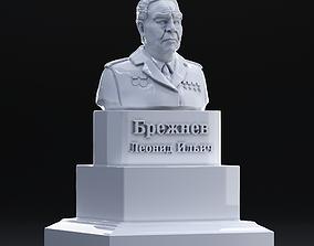 3D print model Sculpture of Brezhnev Leonid Ilyich