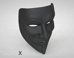 3D print model Guy Fawkes Mask