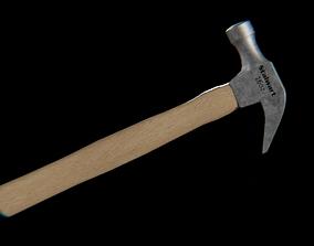 Stalwart claw Hammer brushed 3D model