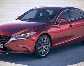 Mazda 6 Sedan 2018 3D model
