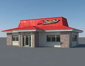 3D Pizza Hut Restaurant