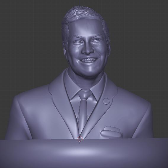 Businessman leader sculpt