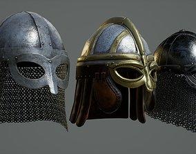 Vinings common Helmets - Low-High poly ZBrush 3D model 1