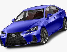 Lexus IS F-sport 2017 3D