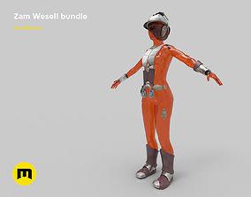 3D print model Zam Wesell bundle