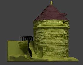 3D print model TOWER PIGEON LOFT