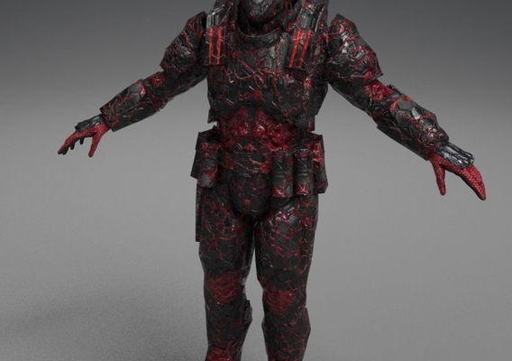 Infected Armor Set
