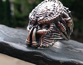Predator ring 3D print model