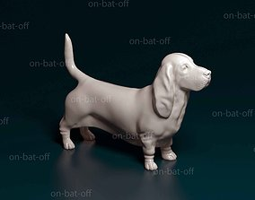 3D printable model Basset hound