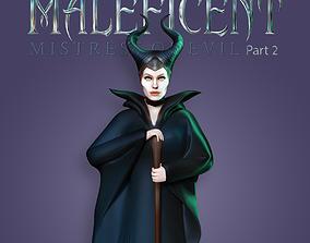 Maleficent 2 - Fan art 3D print model