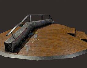 3D asset Skate ramp2