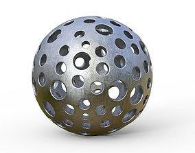 print 3D spherical model 2