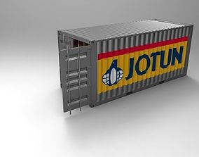 3D 20ft Container 1