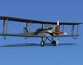 Airco DH-4 V05 US Air Mail 3D model
