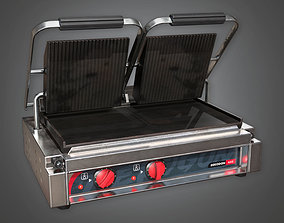 KTC - Double Sandwich Panini Press - PBR Game 3D model