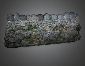 GFS - Outdoor Wall 07 - PBR Game Ready 3D model