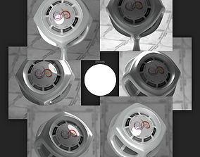 3D model Flat Circle 4k Synth HDRI square