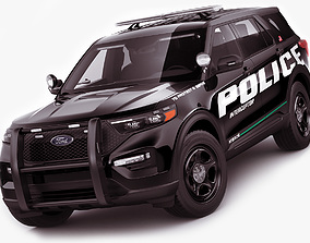 3D Explorer 2020 Police Interceptor