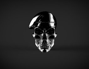 3D print model skull soldier