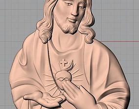 Christianity Jesus Christ Virgin Mary CNC 3D 2
