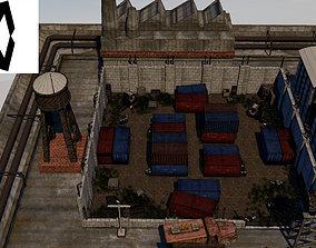Military Area 3D asset