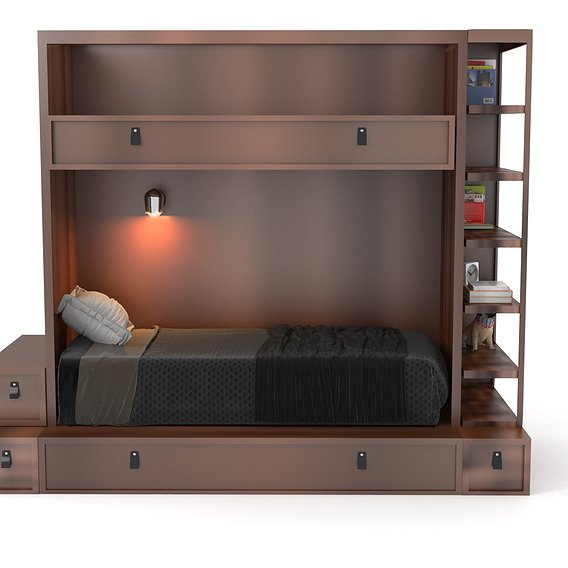 modern bunk bed design
