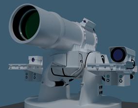 3D laser turret XN-1 LAWS model