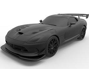 3D printable model Dodge Viper ACR