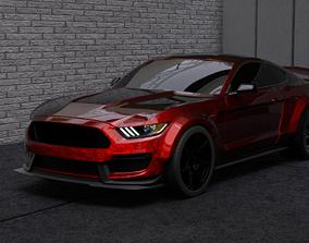 2016 Mustang GT350 RTR Wide Body 3D model