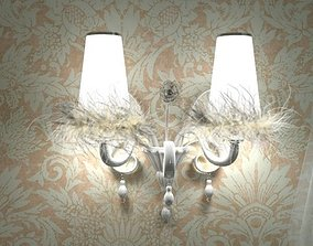 Carlesso Blanche Sconce Light 3D