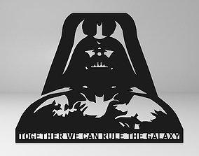 3D printable model Darth Vader Wall Decor
