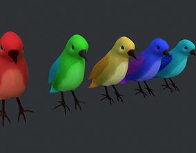 3D model realtime Birds